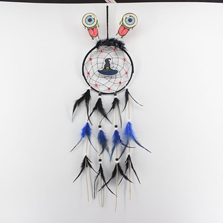 Halloween Decor Feather Dream Catcher 1820233